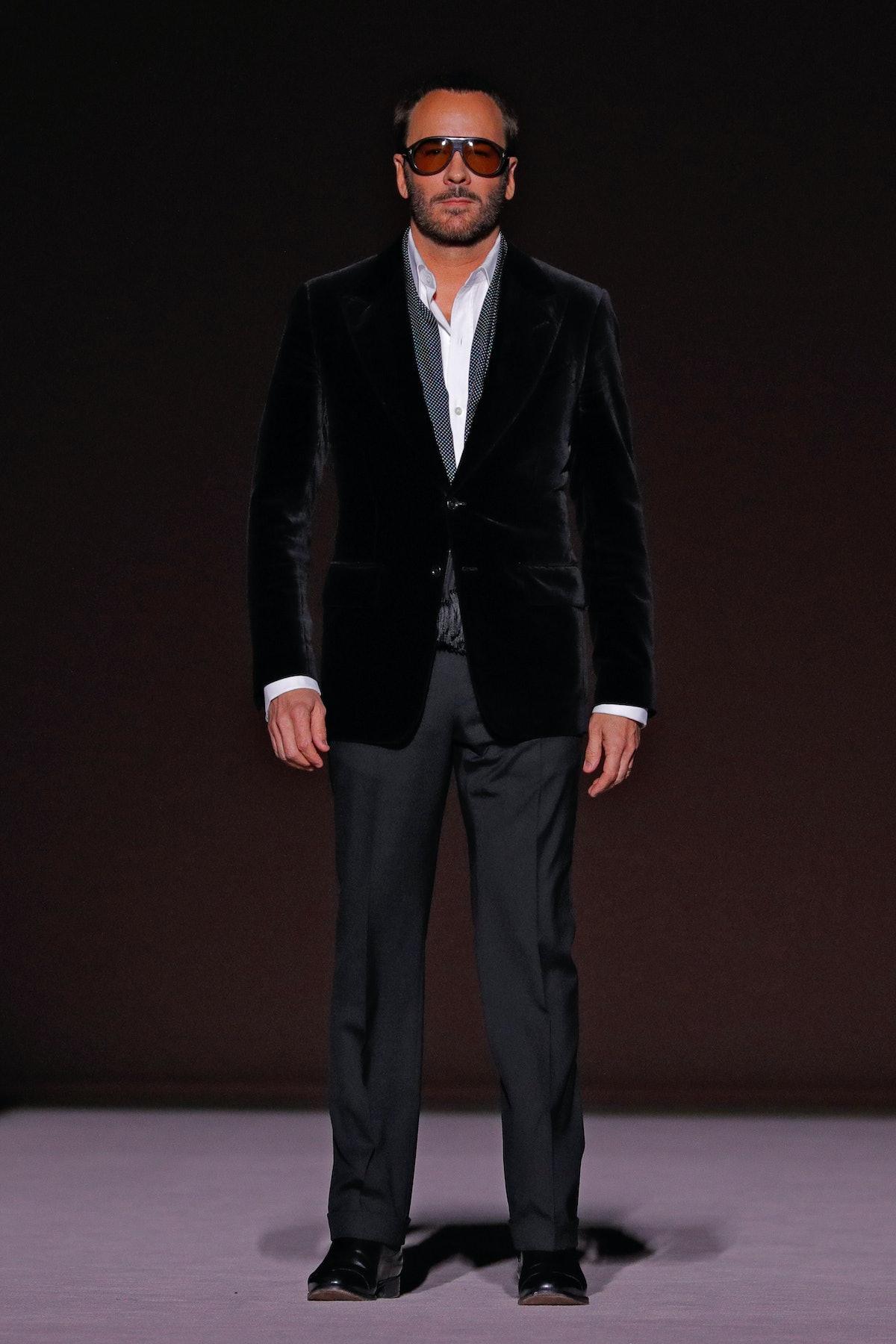 Tom Ford - Runway - February 2019 - New York Fashion Week