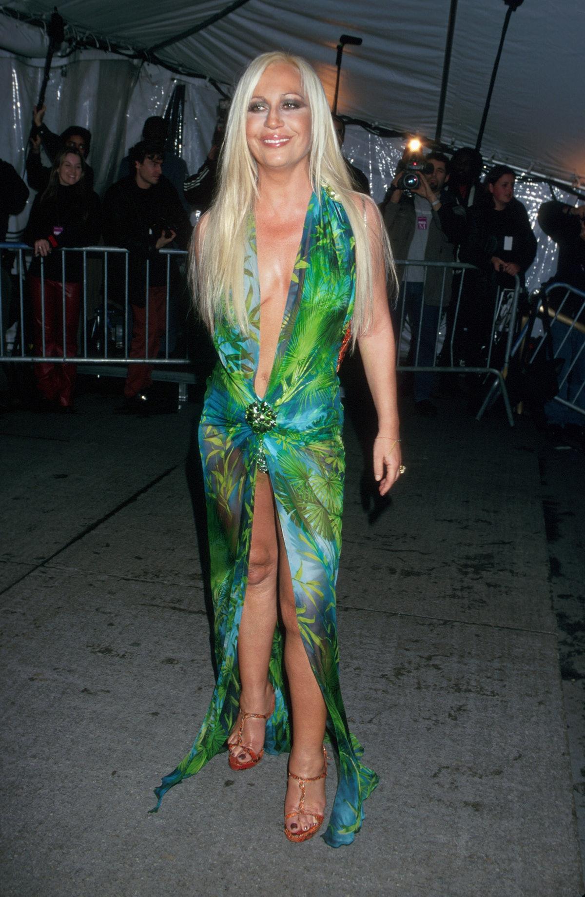 Portrait of Donatella Versace