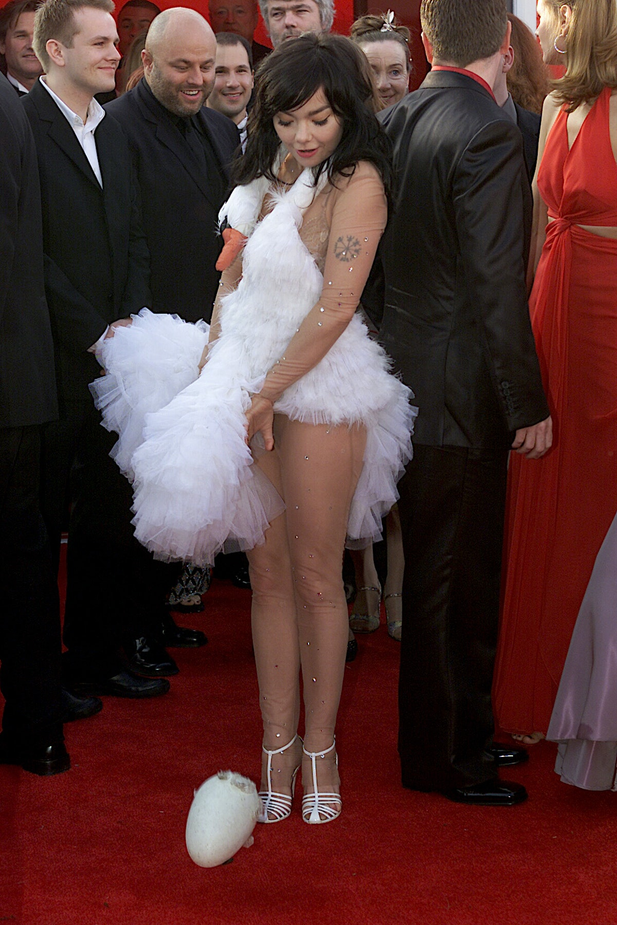 026678.0325.osc66.ws07 ?? Bjork at the 73rd Academy Awards at the Shrine Auditorium in Los Angeles o