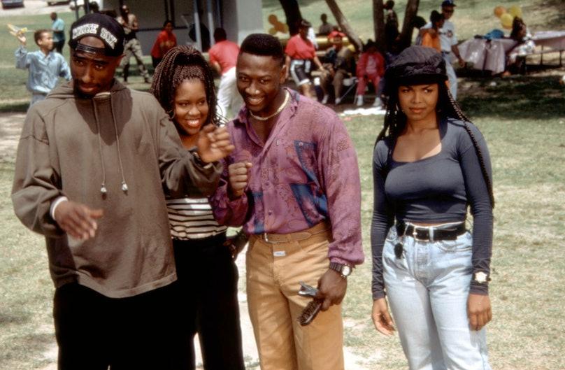 POETIC JUSTICE, Tupac Shakur, Regina King, Joe Torry, Janet Jackson, 1993, (c)Columbia Pictures/cour