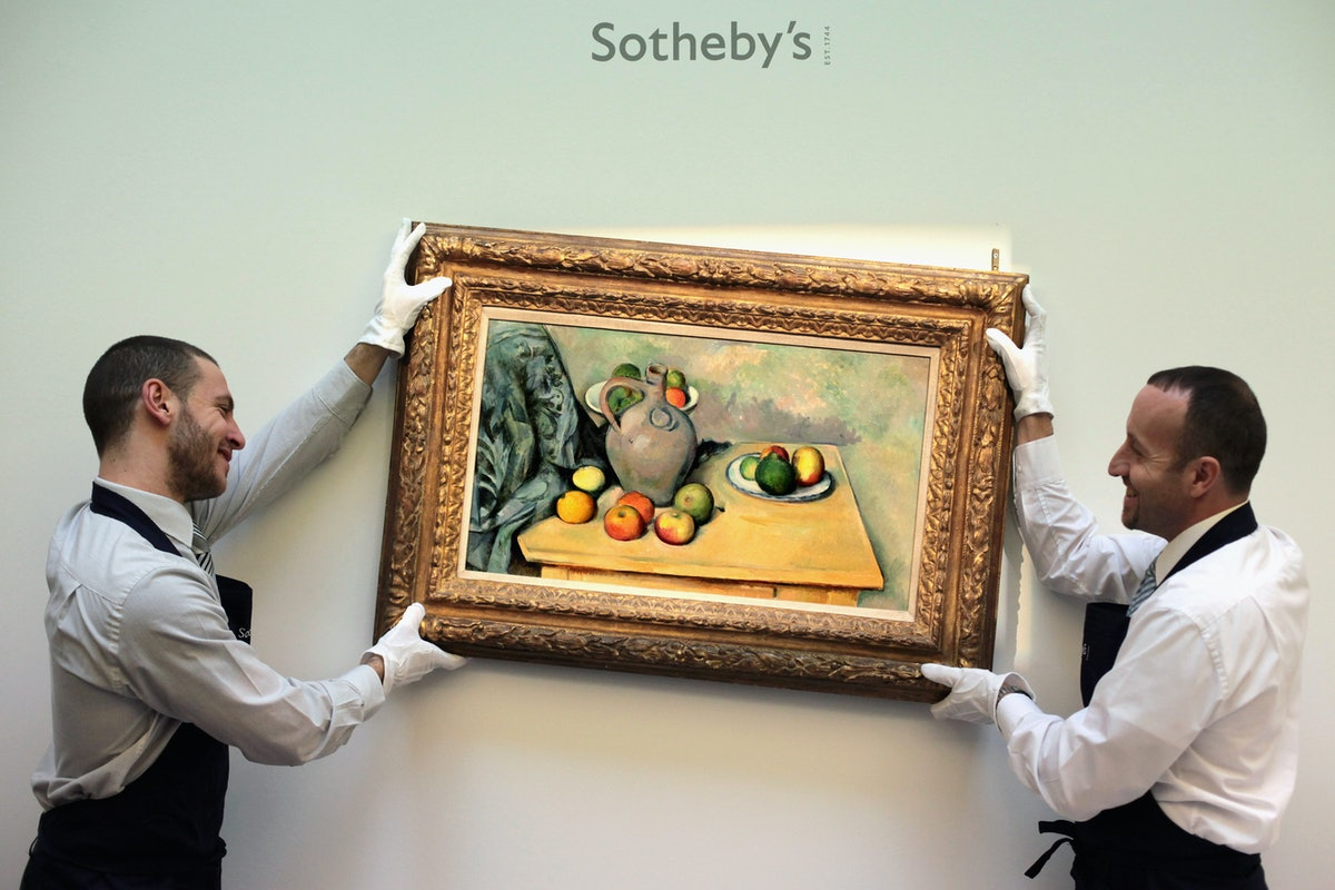Impressionist And Modern Masterpieces Due To Be Auctioned At Sothebys