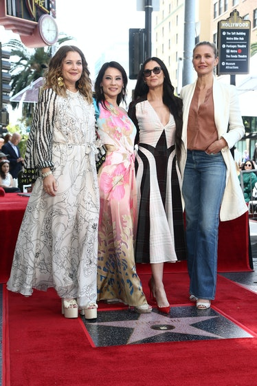 Lucy Liu Honored With Star On The Hollywood Walk Of Fame