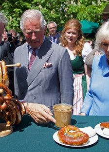 Prince Charles and Camilla Parker-Bowles in Germany