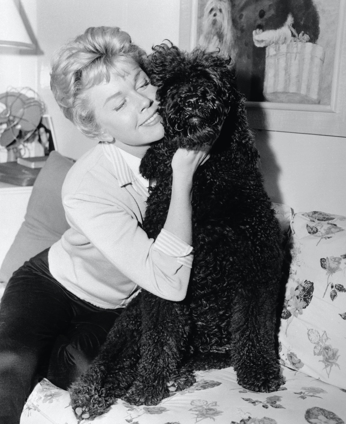 Picture of Doris Day and Dog