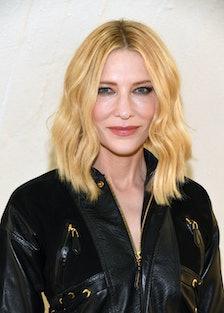 Cate Blanchett at Louis Vuitton Cruise 2020 Fashion Show