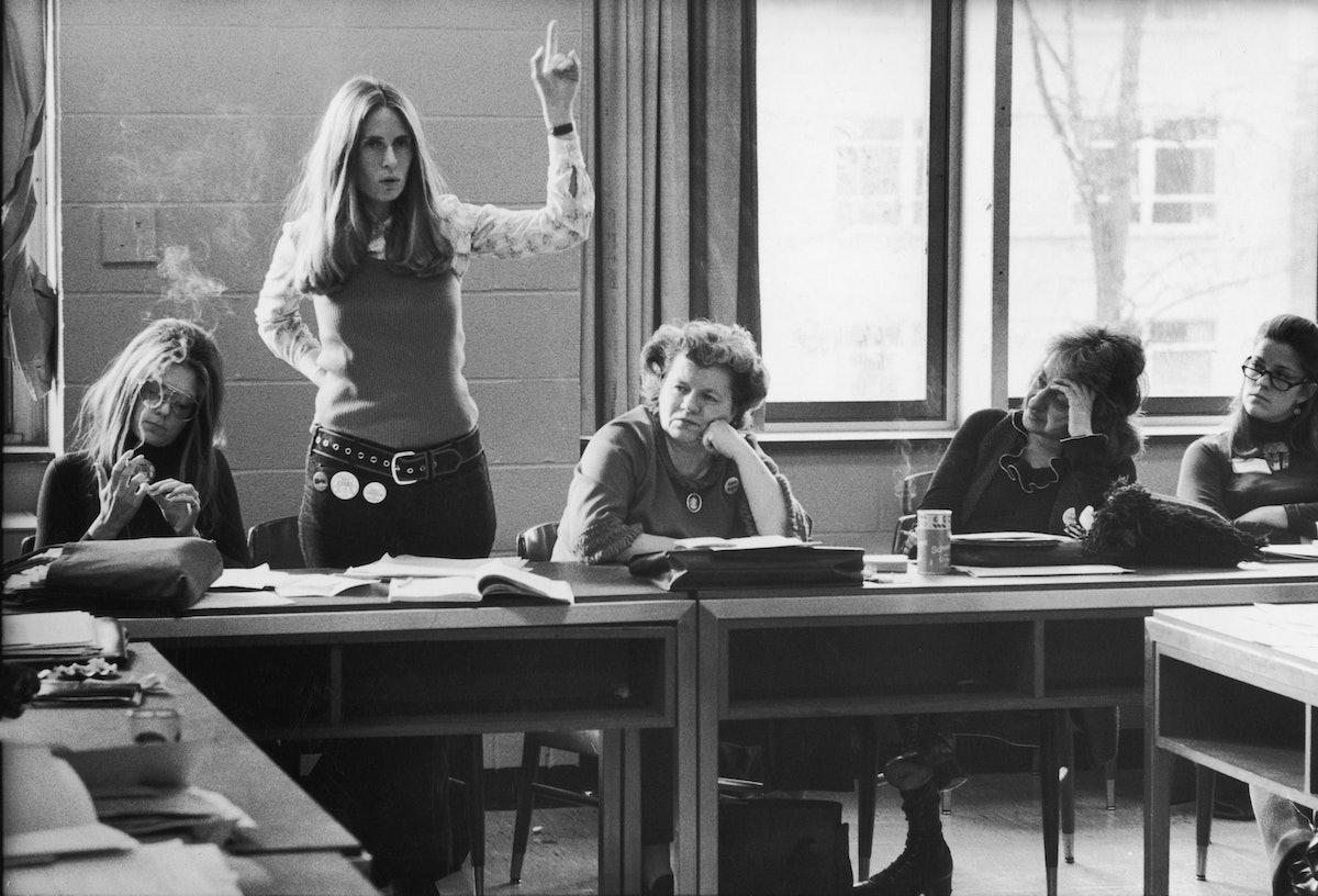 Gloria Steinam;Brenda Feigen Fasteau;Betty Friedan;Wilma Scott Heide