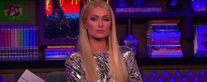 Paris Hilton on WWHL