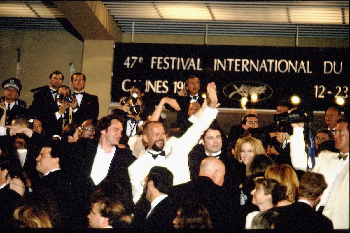 CANNES FESTIVAL: THE FILM 'PULP FICTION'