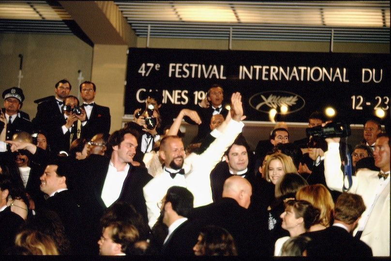 CANNES FESTIVAL: THE FILM 'PULP FICTION'