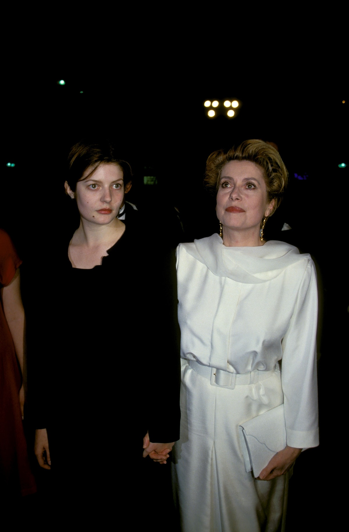 """Cannes 94: Strairs of Film """"PULP FICTION"""" in Cannes, France on May 20, 1995-"""