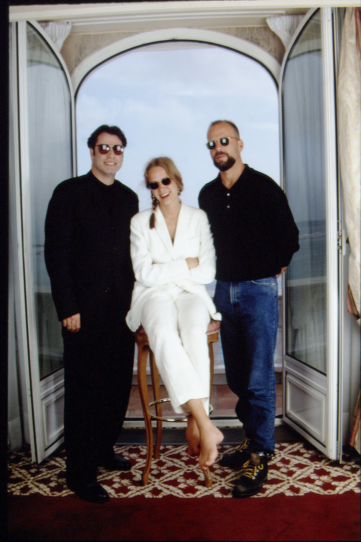 THE FILM CREW FROM 'PULP FICTION' IN CANNES