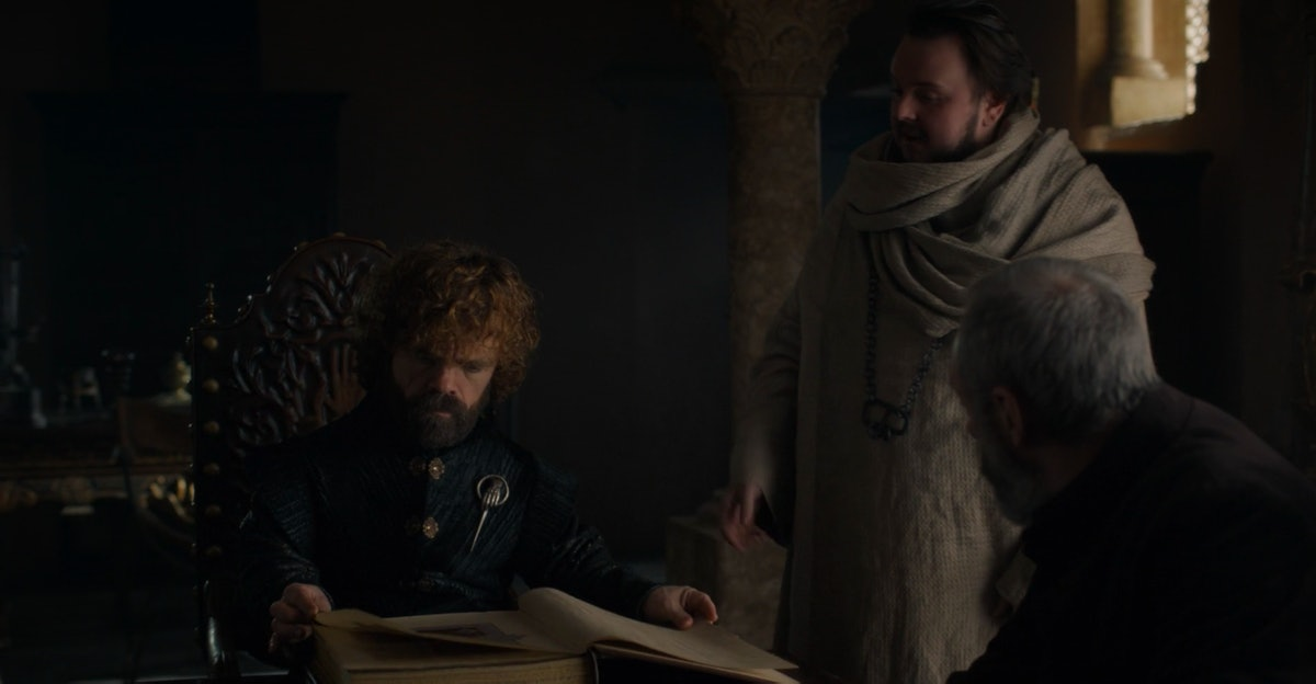 Tyrion Lannister and Samwell Tarly