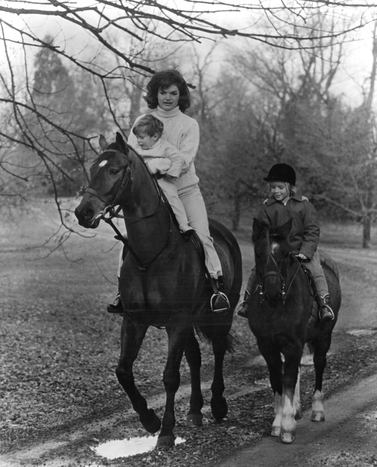 The Kennedys Out For A Ride