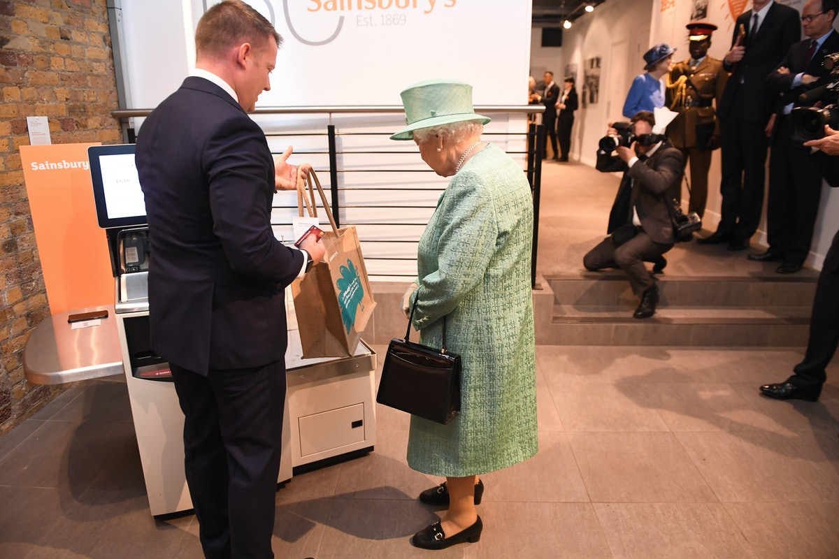 The Queen Marks The 150th Anniversary Of Sainsbury's