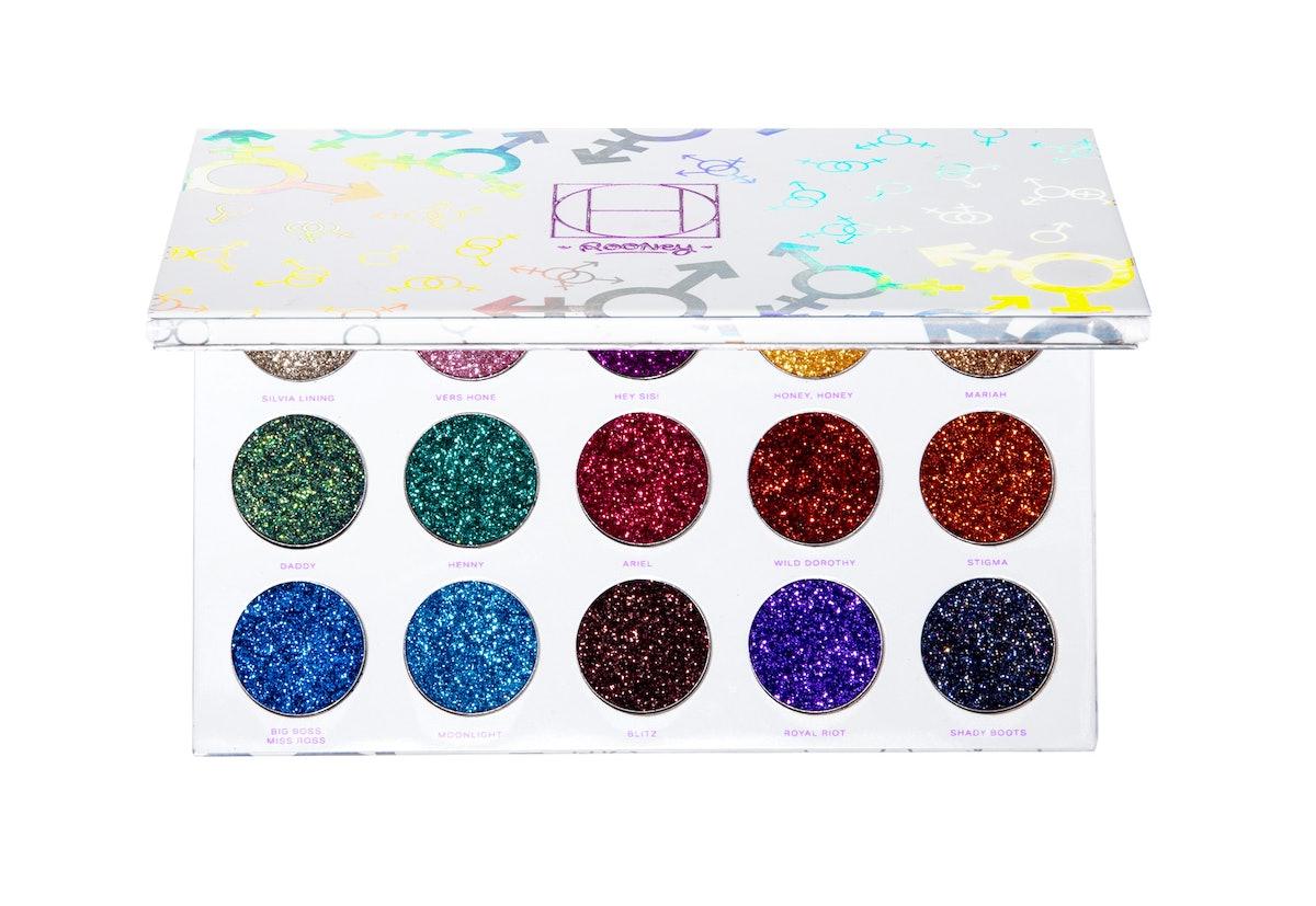 HipDot Legendary Pressed Glitter Palette Open 01.jpg