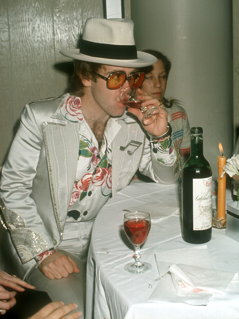 Elton Out On The Town