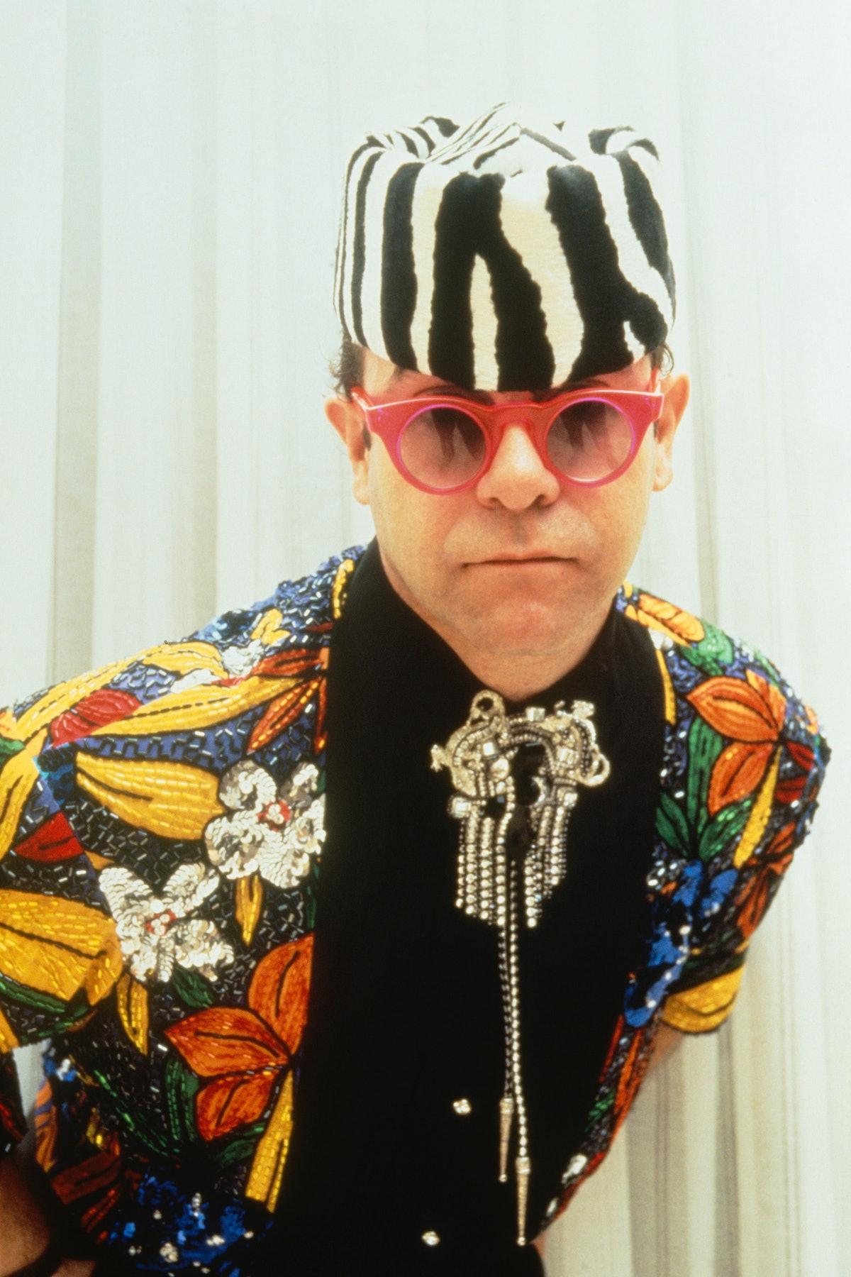 British singer Elton John