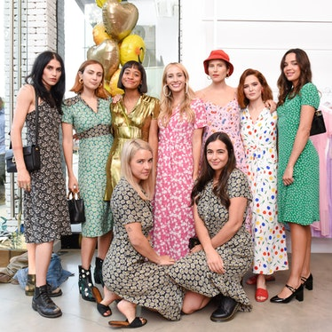 The Summer Shop' Opening Party: with Harley Viera-Newton, Alison Lou, Liana and Levis Brand