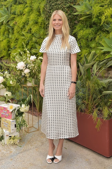 Gwyneth Paltrow hosts a Goop morning in celebration of first international campaign with Flow Alkali...