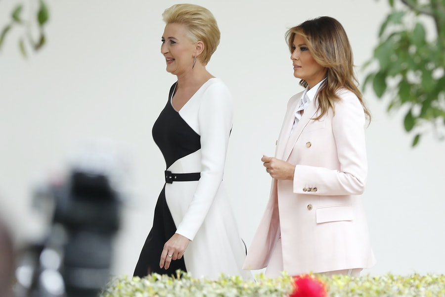 President Trump Hosts Poland's President Andrzej Duda At The White House
