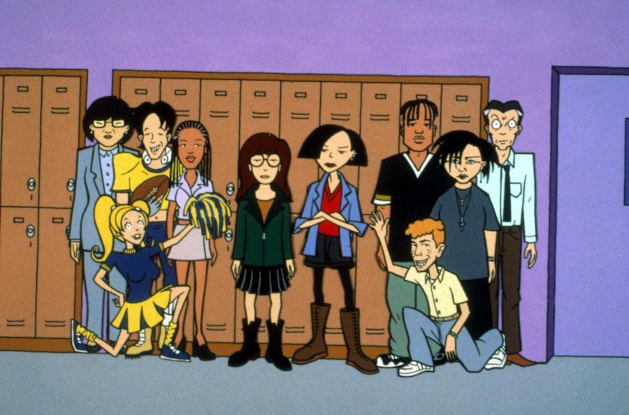 DARIA, Animated MTV Series, 1997-2002. © MTV / Courtesy: Everett Collection