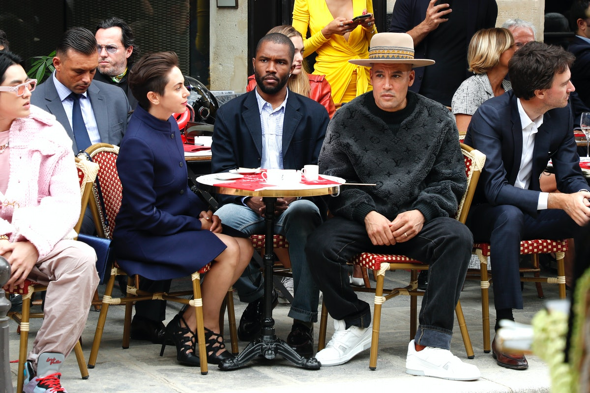 Louis Vuitton : Front Row - Paris Fashion Week - Menswear Spring/Summer 2020