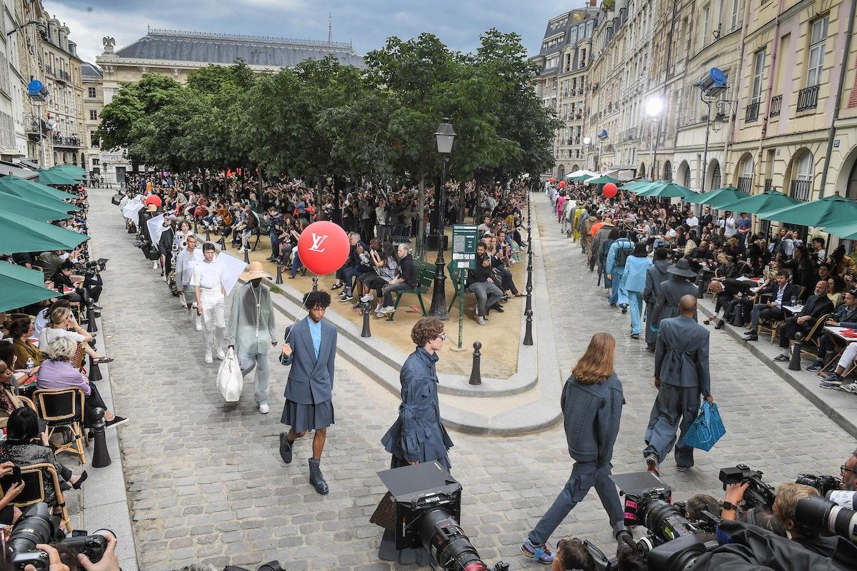 Louis Vuitton : Runway - Paris Fashion Week - Menswear Spring/Summer 2020
