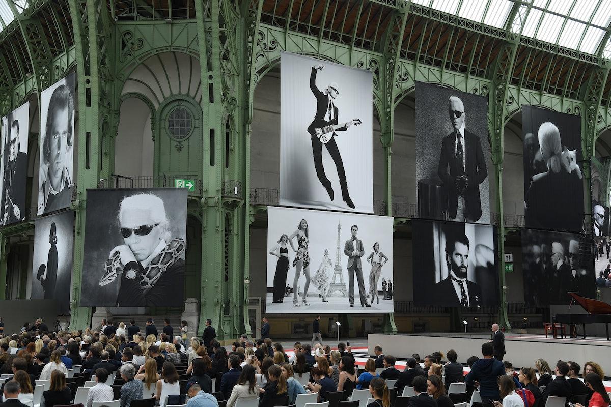 """Karl For Ever"" At Le Grand Palais"