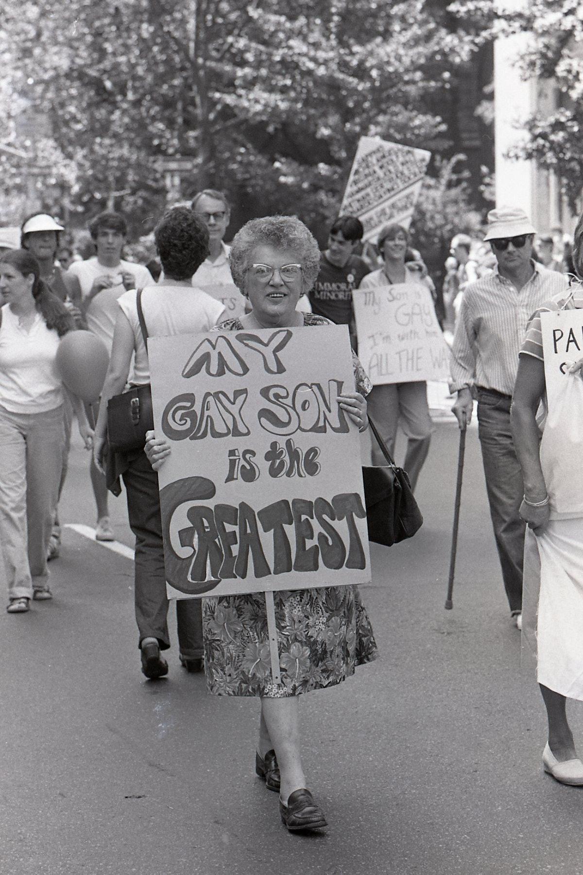 New York City Gay Pride Parade, 1981