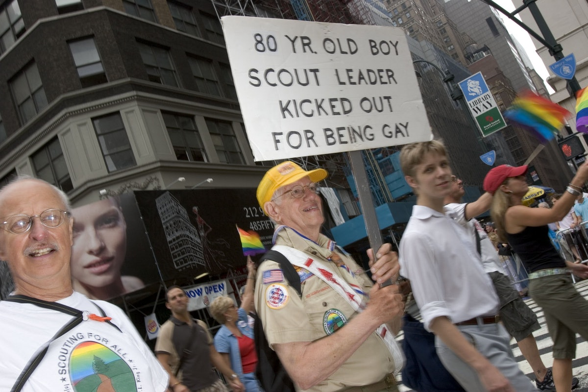 Gay Pride Fills New York Streets During Annual March