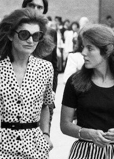 Jackie Kennedy Caroline Kennedy