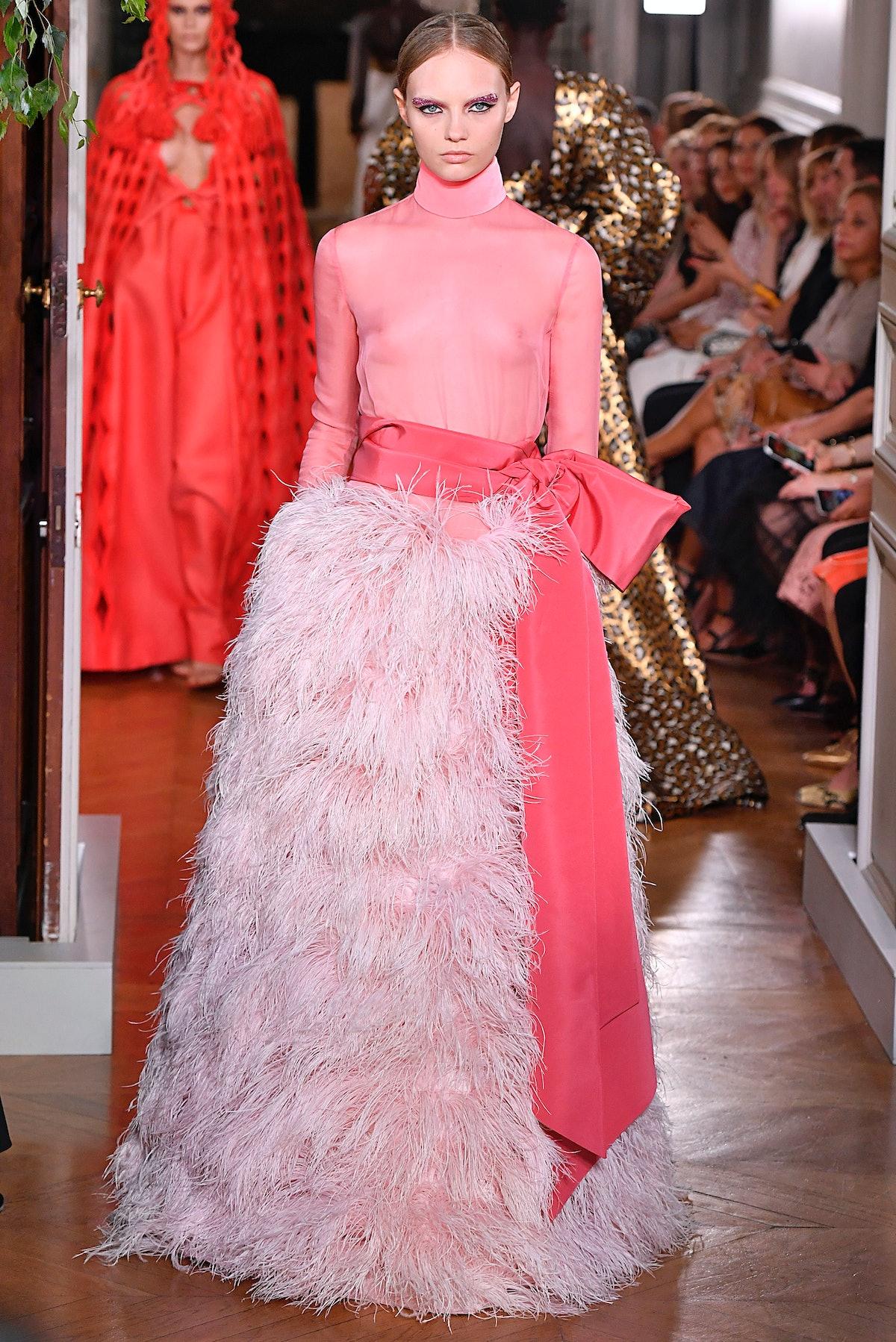 Valentino : Runway - Paris Fashion Week - Haute Couture Fall/Winter 2019/2020