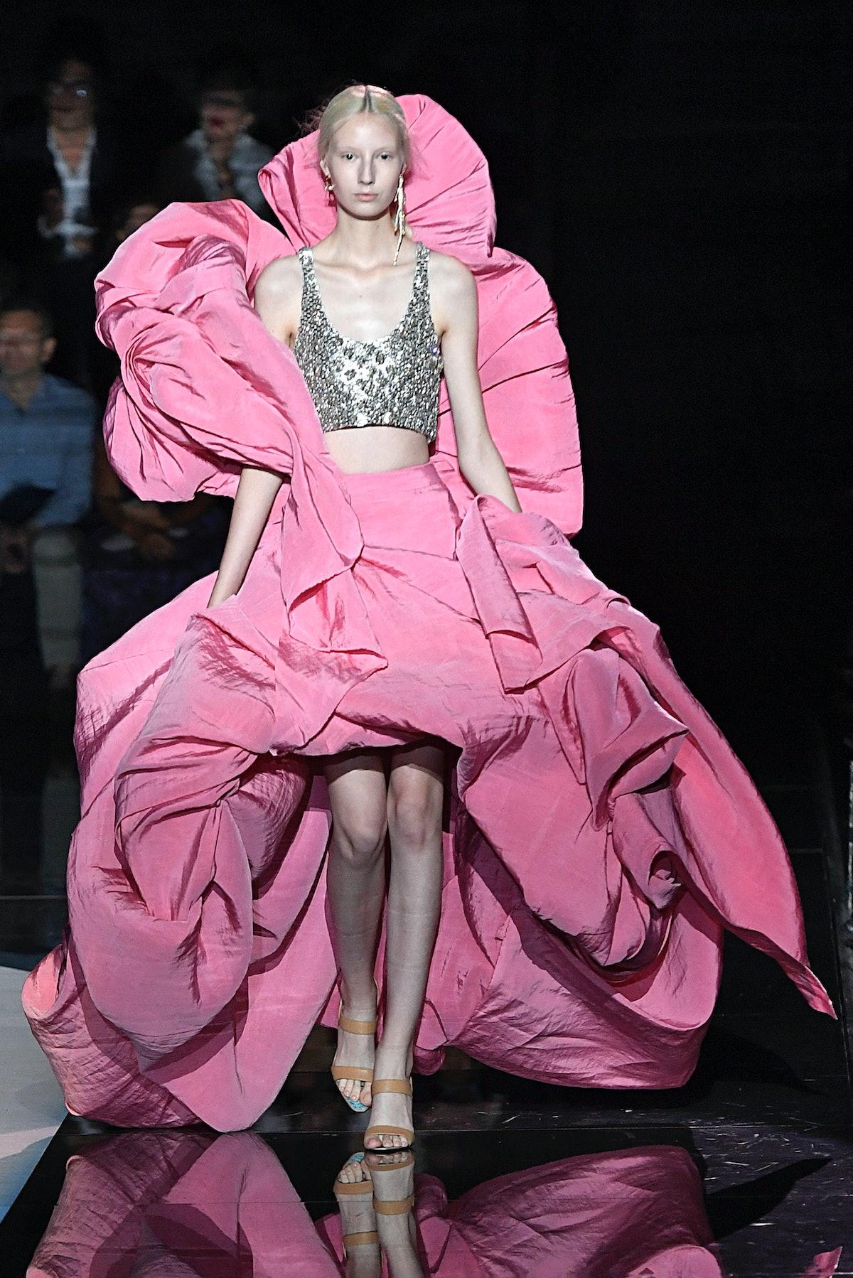 Schiaparelli : Runway - Paris Fashion Week - Haute Couture Fall/Winter 2019/2020