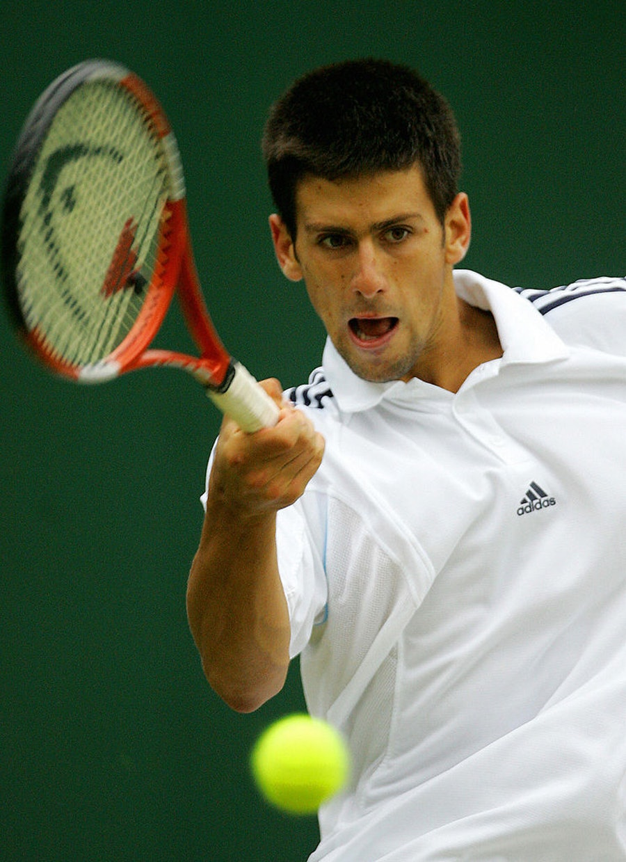 Novak Djokovic of Serbia and Montenegro