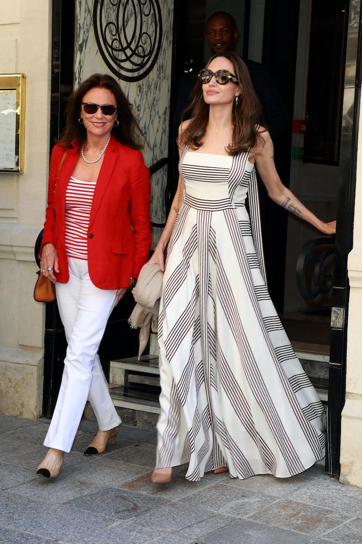 Celebrity Sightings In Paris - July 9, 2019