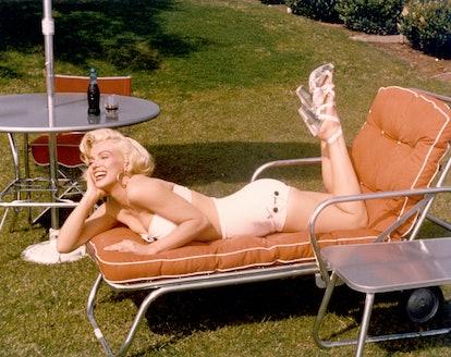 Marilyn In A Bathing Suit