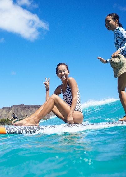 Kalani and Oleema Surfing .JPG
