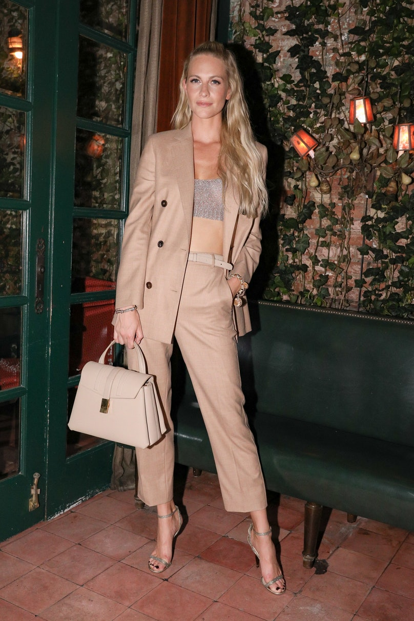[PRIVATE FOR APPROVALS] Agnona Dinner: with Poppy Delevingne