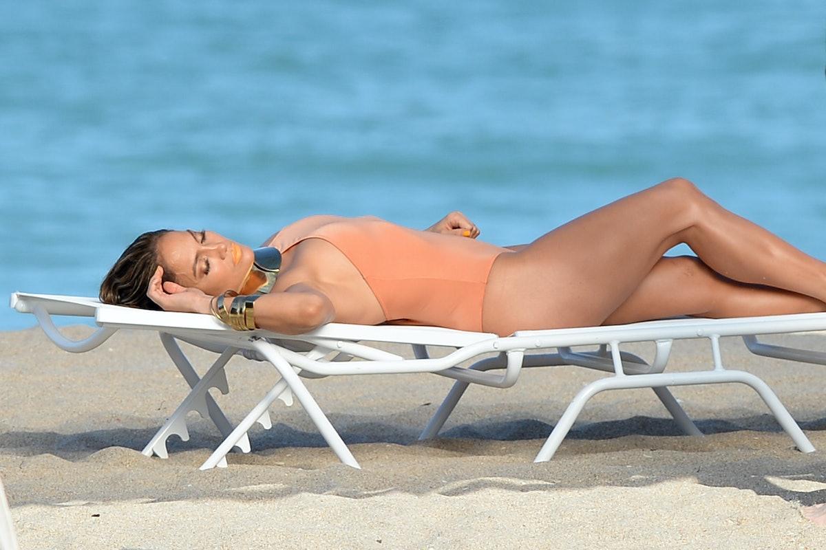 Jennifer Lopez And Pitbull Video Shoot In Florida
