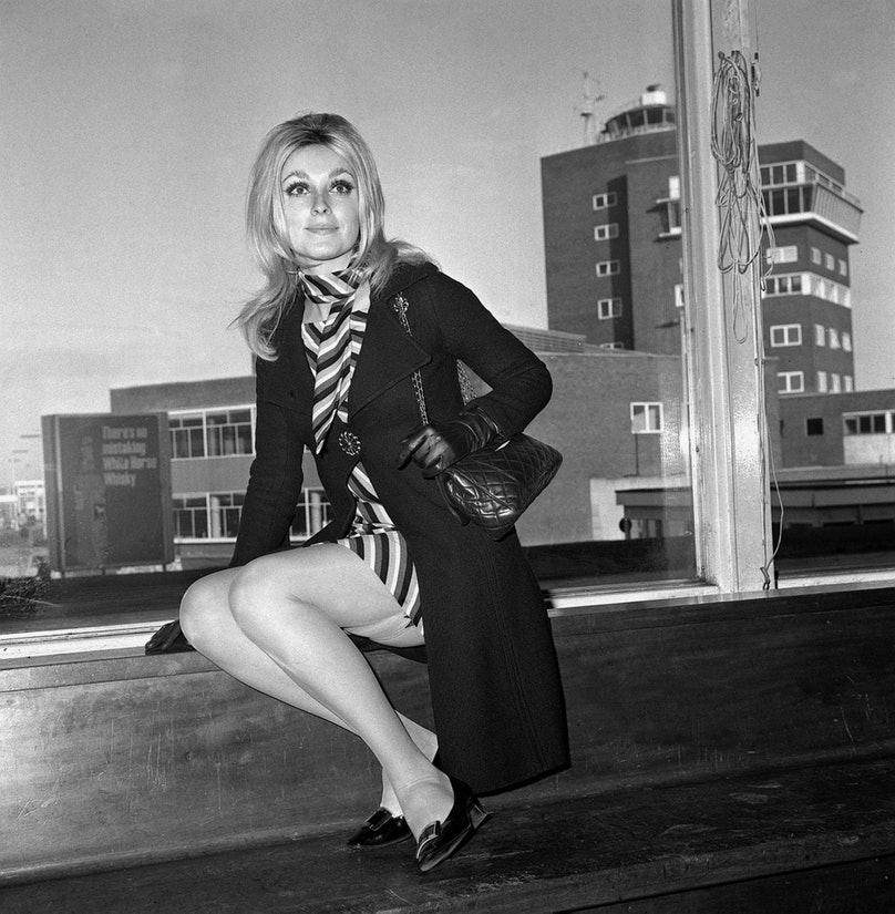 Sharon Tate - Heathrow Airport - London