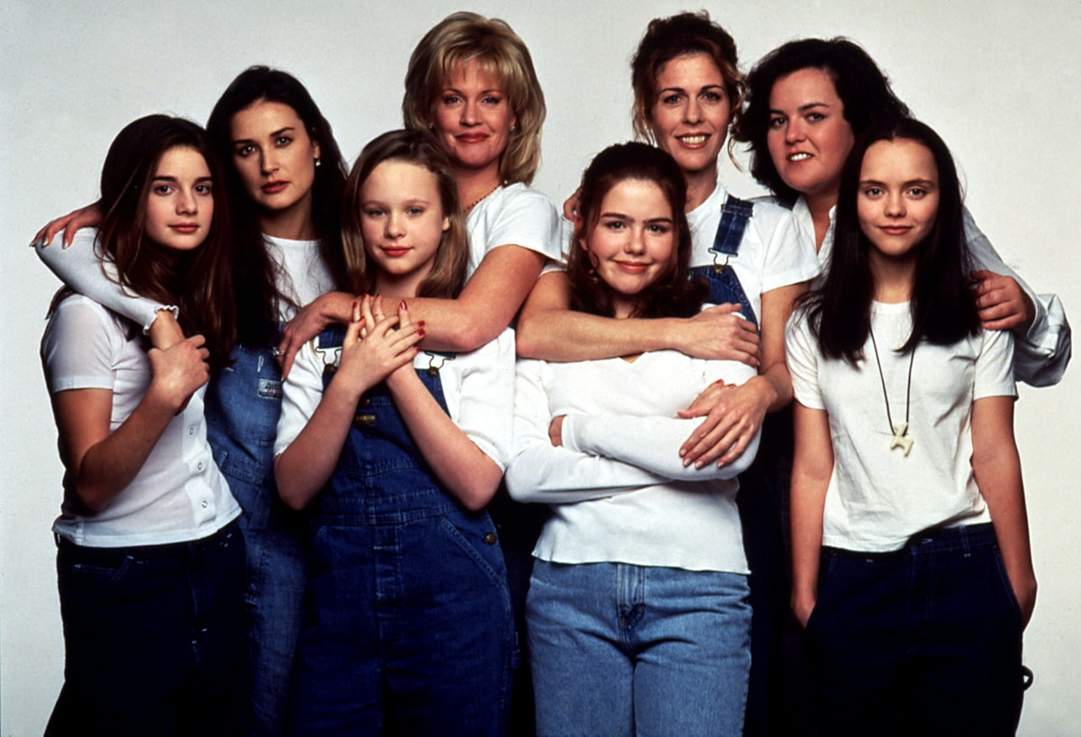 NOW AND THEN, Gaby Hoffman, Demi Moore, Thora Birch, Melanie Griffith, Ashleigh Aston Moore, Rita Wi