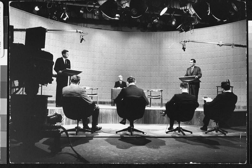 Richard M. Nixon;Howard K. Smith;John F. Kennedy