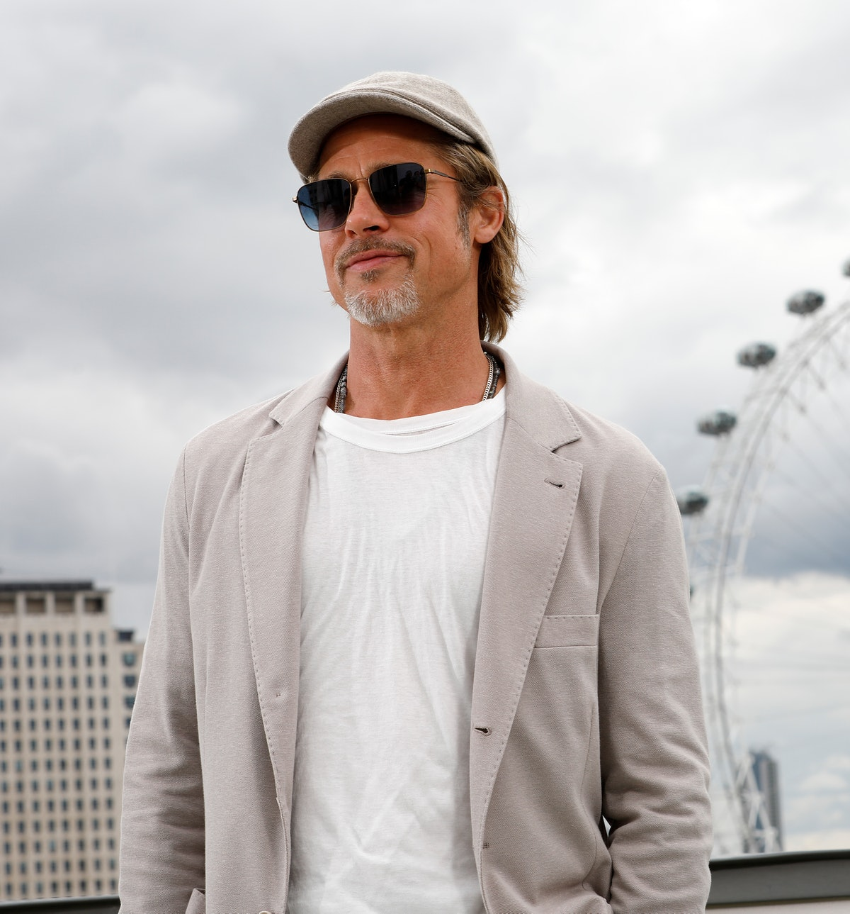 Brad Pitt Once Upon A Time... In Hollywood Photocall - London