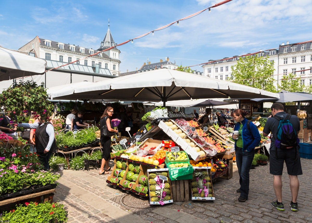 Copenhagen fresh market