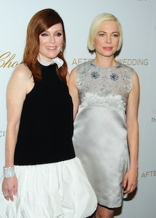 Julianne Moore and Michelle Williams Chopard And The Cinema Society Host A Special Screening Of Sony...