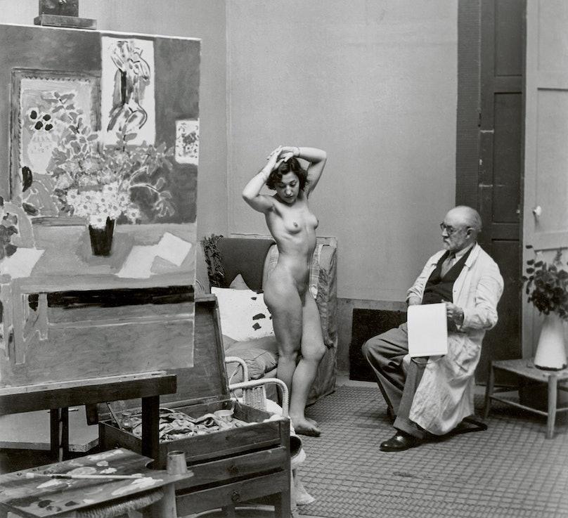 Matisse with his Model 1939 c Estate Brassai Succession Paris.jpg