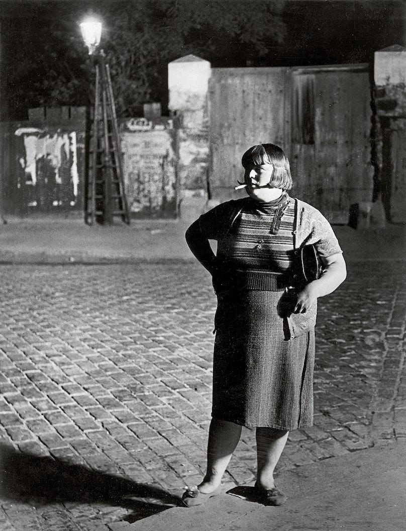 Streetwalker near Place d Italie 1932 c Estate Brassai Succession Paris.jpg