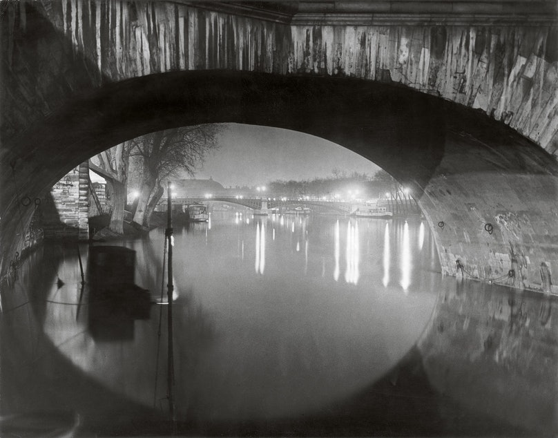 View through the pont Royal toward the pont Solferino c 1933 c Estate Brassai Succession Paris.jpg