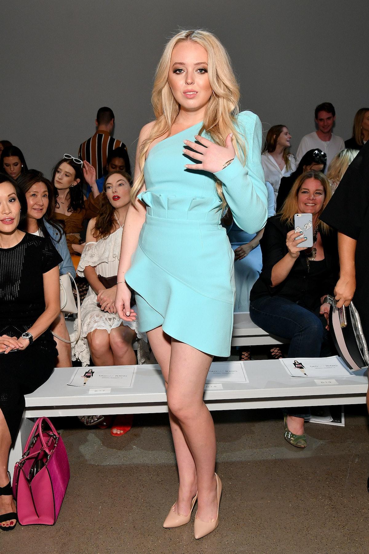 Tiffany Trump at Taoray Wang - Front Row - September 2018 - New York Fashion Week: The Shows