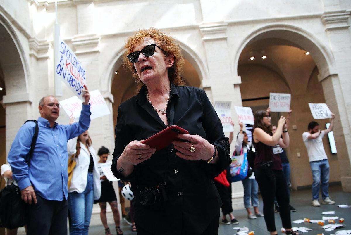 Opioid Protest At Harvard Art Museum